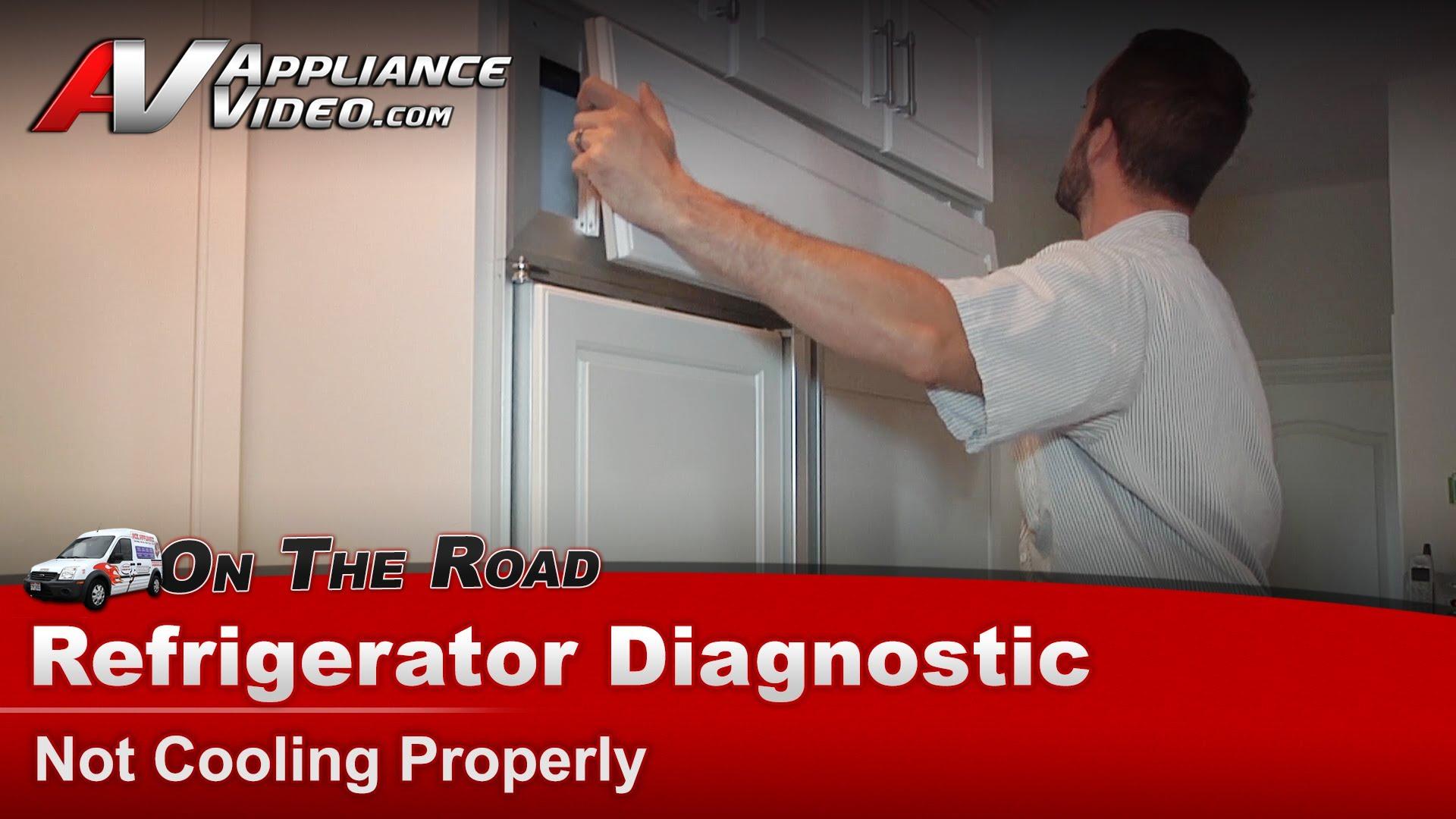 Sub Zero 532 Refrigerator Diagnostic Not Cooling