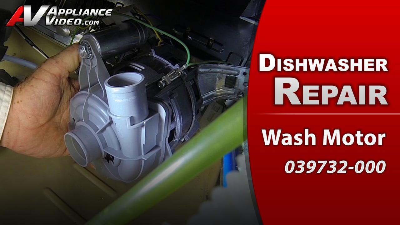 Viking FDW100 Dishwasher – Grinding sounds – Wash Motor