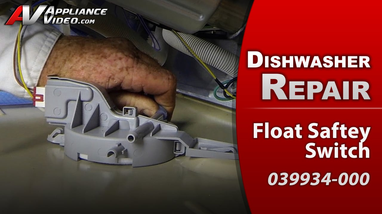 Viking FDW100 Dishwasher – Unit starts then stops – Float Safety Switch
