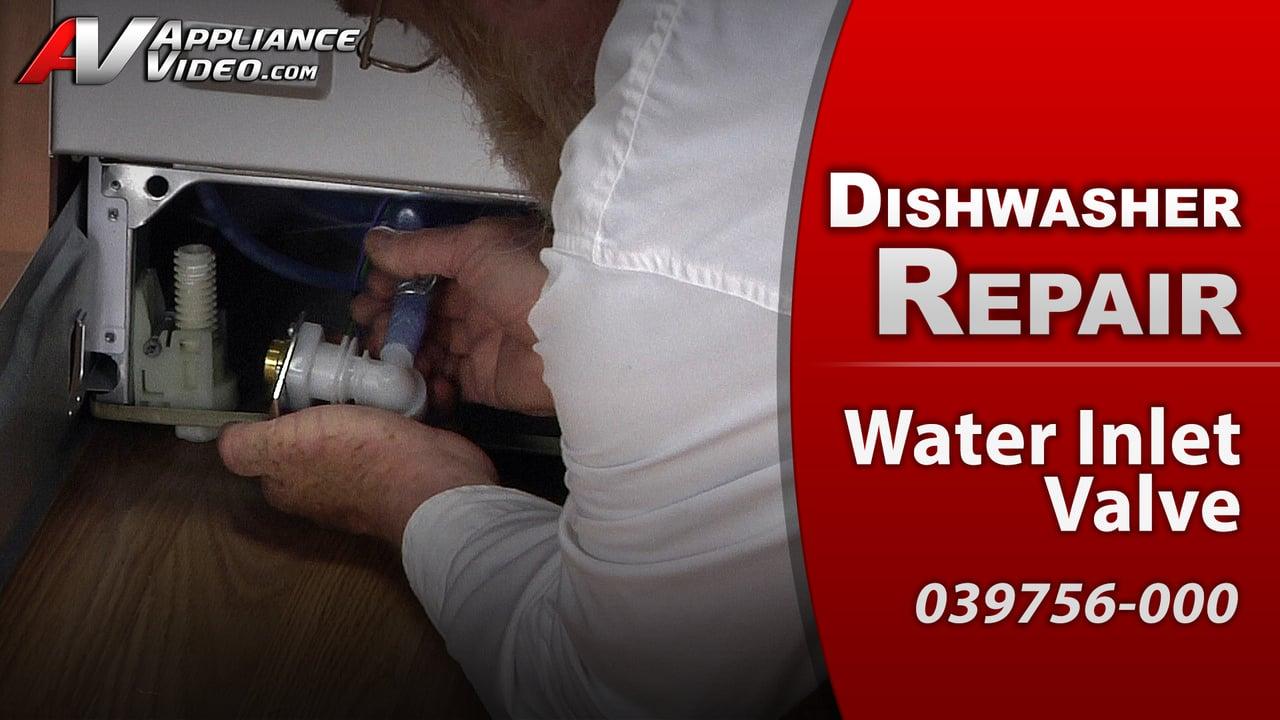 Viking FDW100 Dishwasher – Unit starts then stops – Water Inlet Valve