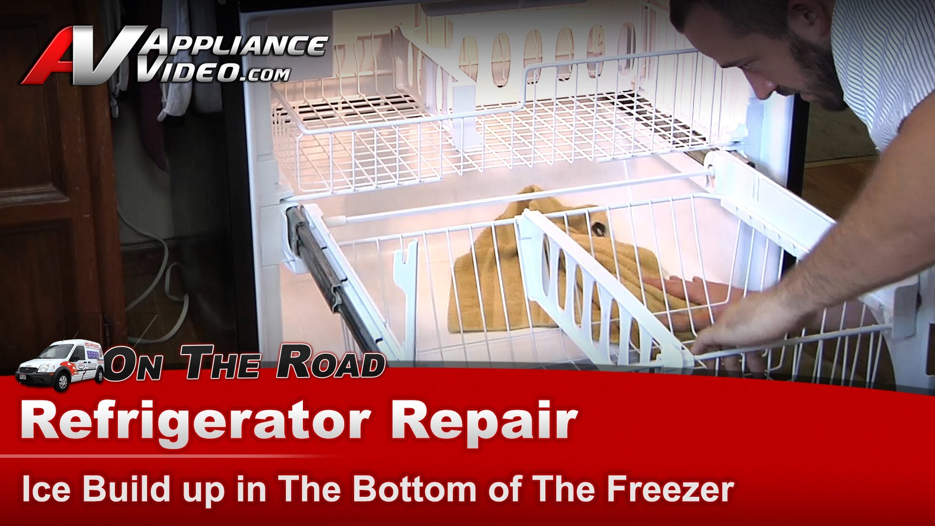 Kenmore Refrigerator Repair >> Whirlpool GB2FHDXWS07 Refrigerator Repair – Ice buildup in the bottom of the freezer – Drain ...
