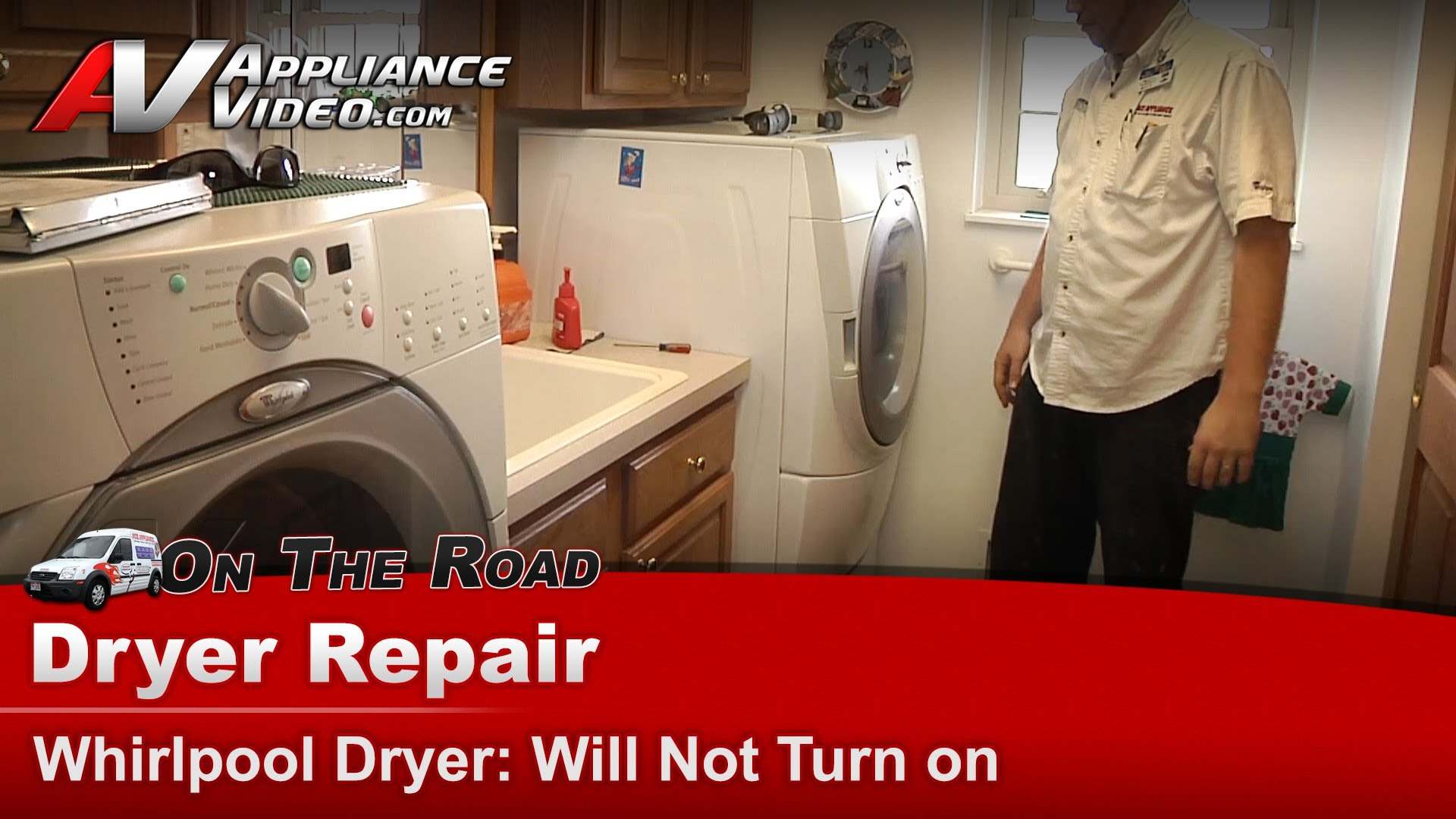 Whirlpool Gew9250pw1 Dryer Diagnostic And Repair Will