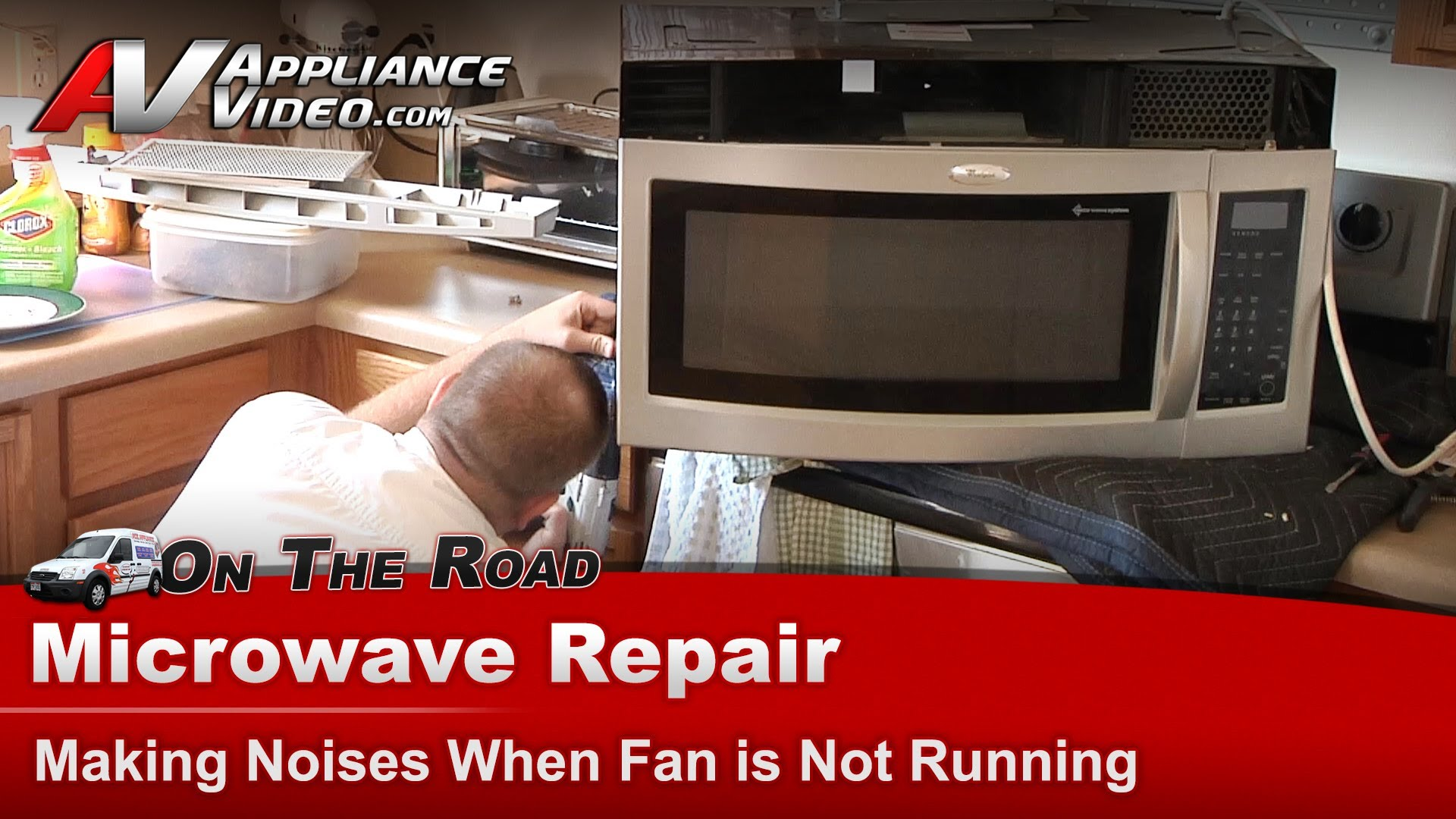 Whirlpool Gh5184xps 4 Microwave Repair Making Noises When Fan Is Not Running Liance Video