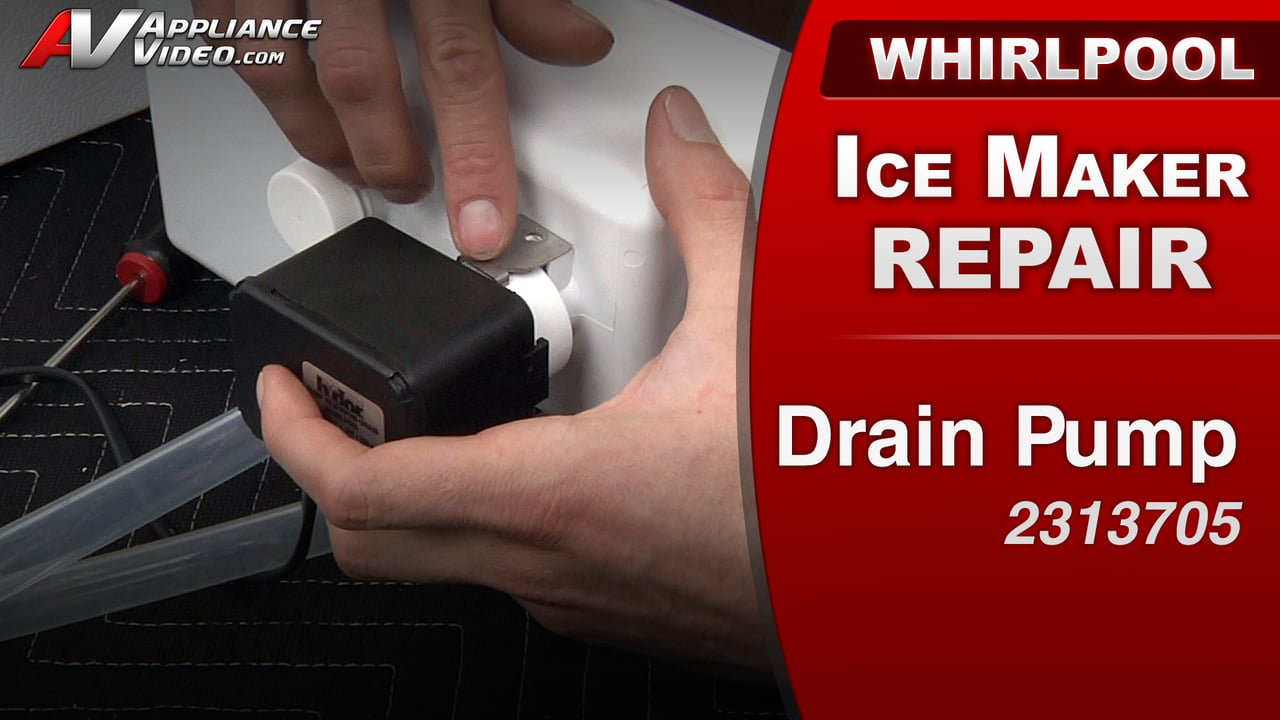 Whirlpool GI15NDXXQ Ice Maker – Not producing Ice – Drain Pump
