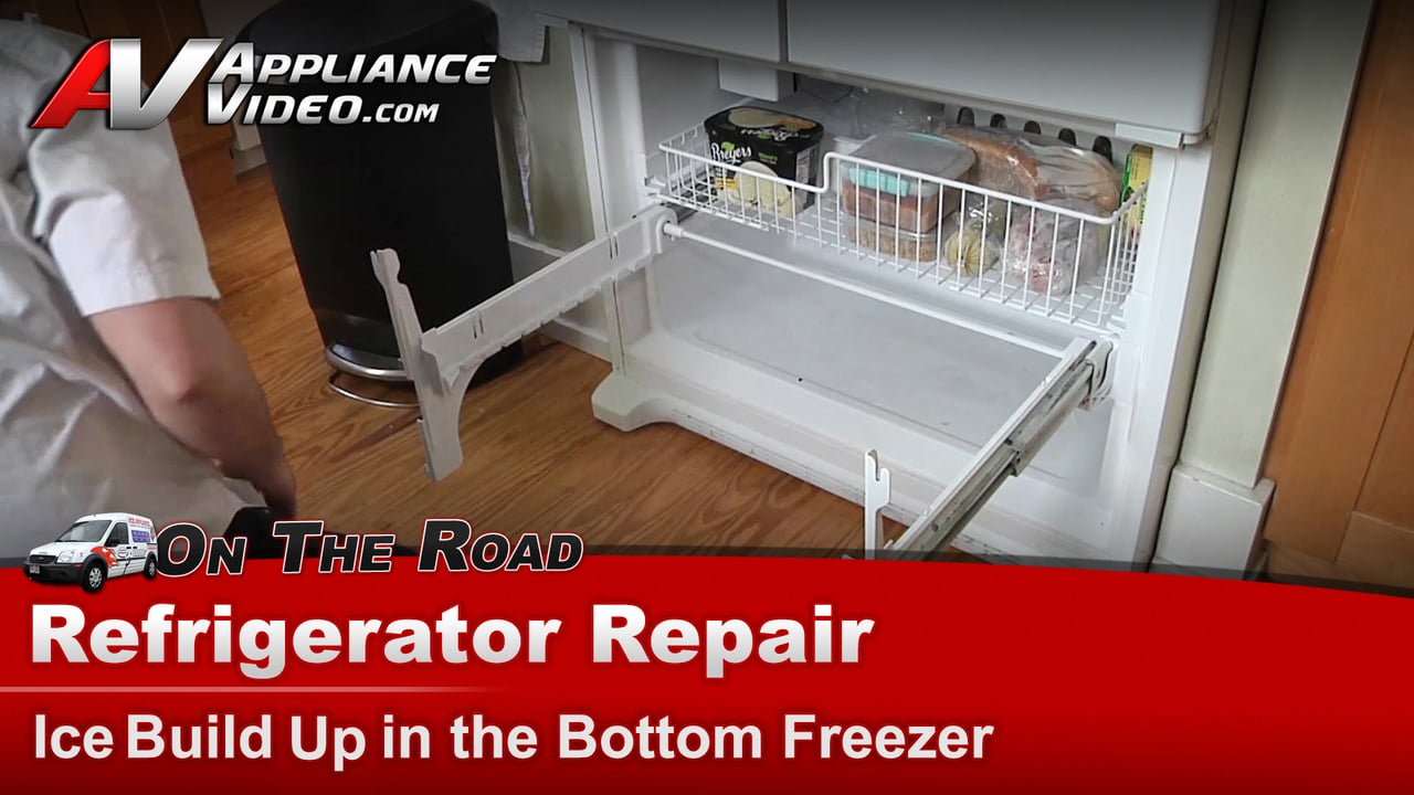Whirlpool Gx5fhdxvq02 Refrigerator Repair Ice Buildup In
