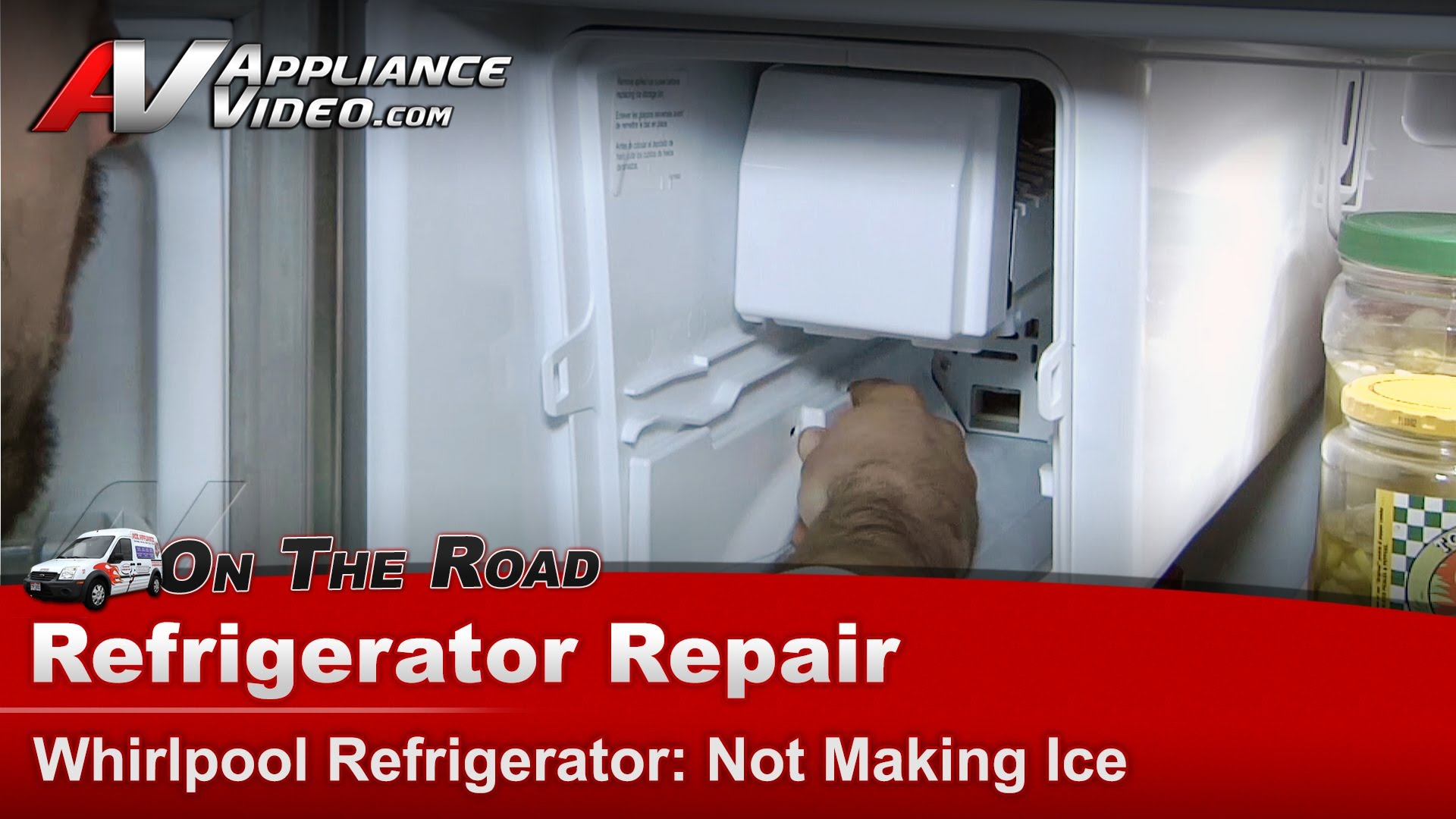 Whirlpool Gz25fsrxyy5 Refrigerator Repair Not Making Ice