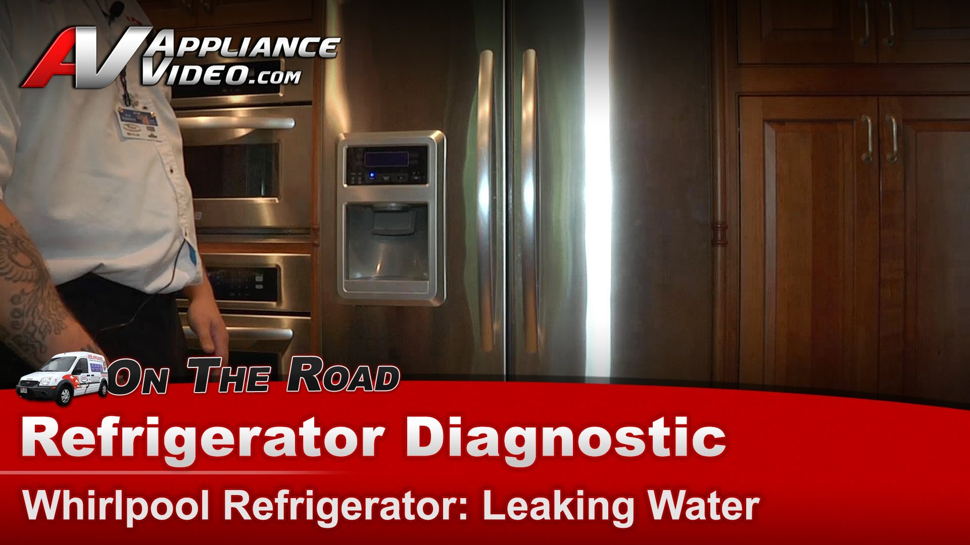 Whirlpool Kfis20xvms1 Refrigerator Diagnostic Leaking