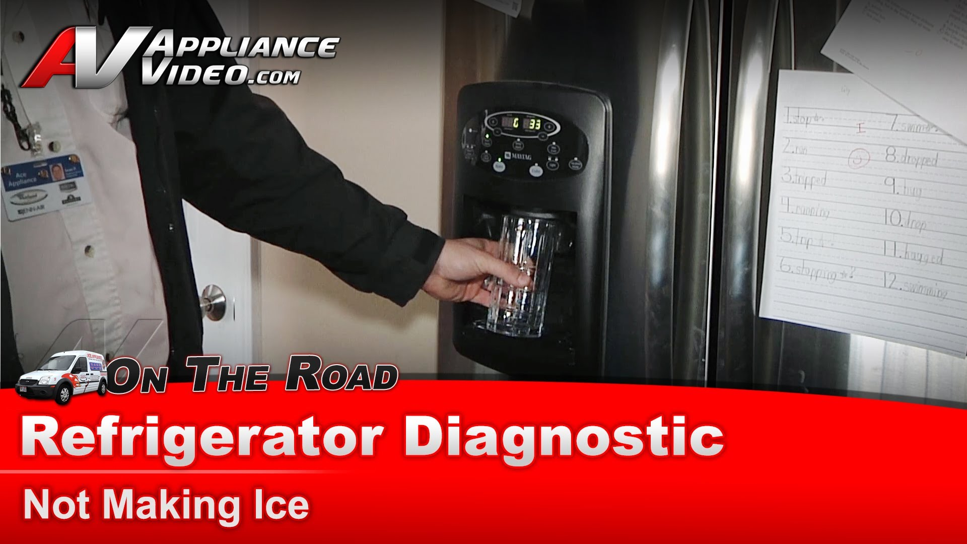 Whirlpool Mfi2568aes Refrigerator Diagnostic Not