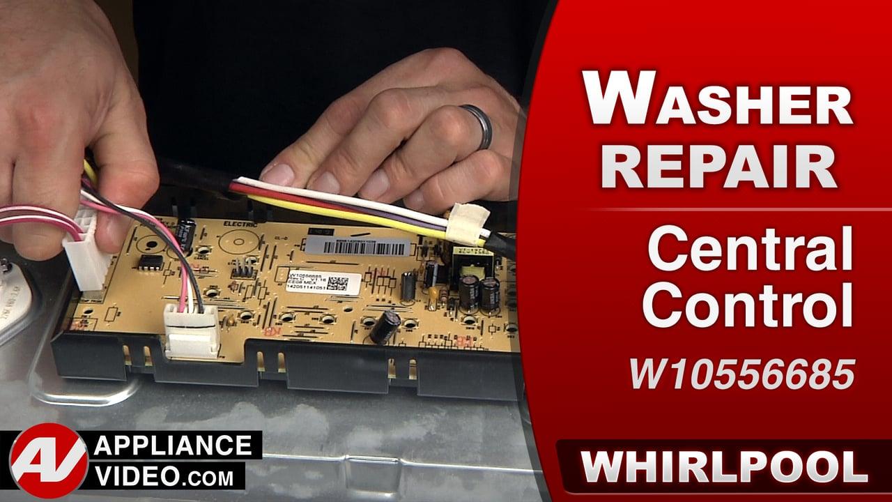 Whirlpool Swash Repair – Central Control