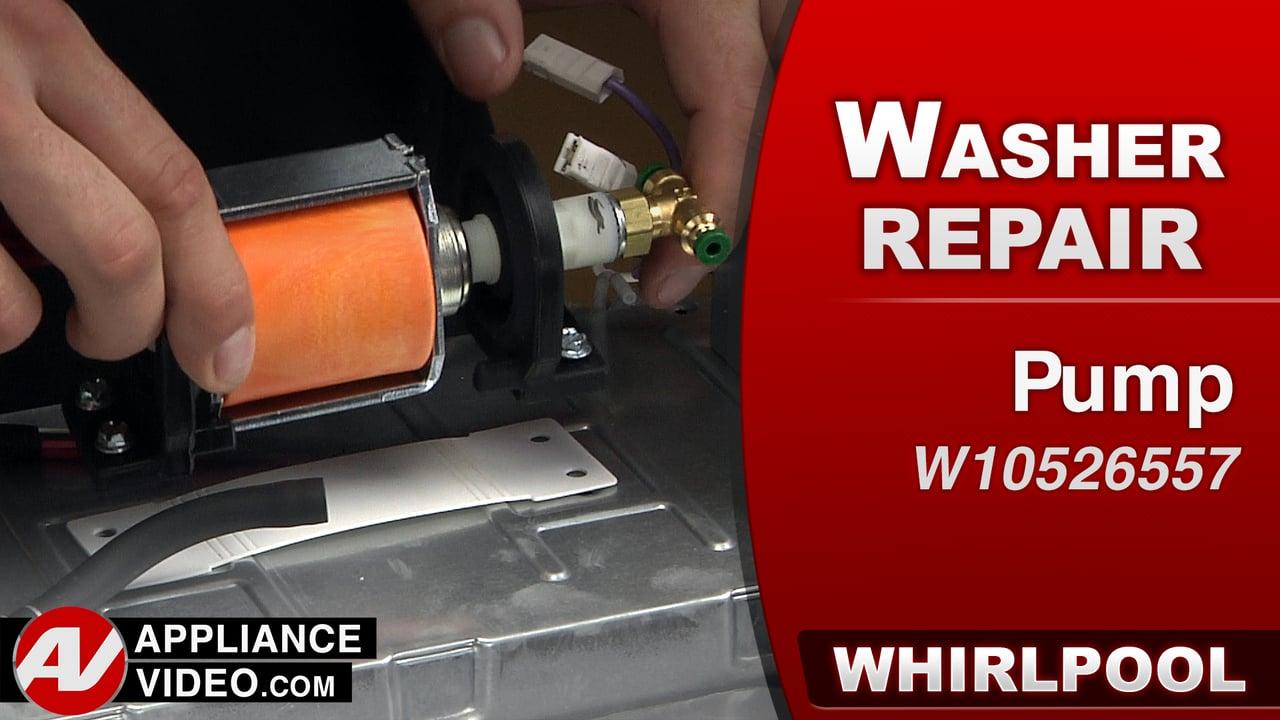Whirlpool Swash Repair – Pump