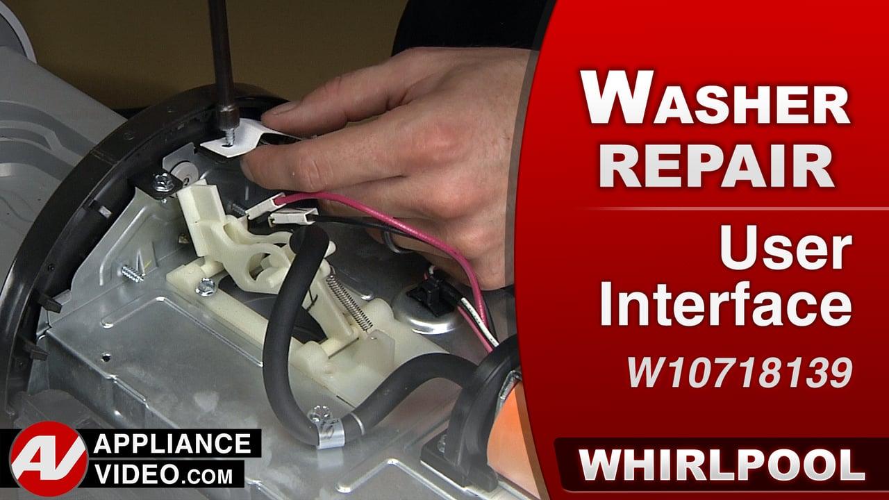 Whirlpool Swash Repair – User Interface