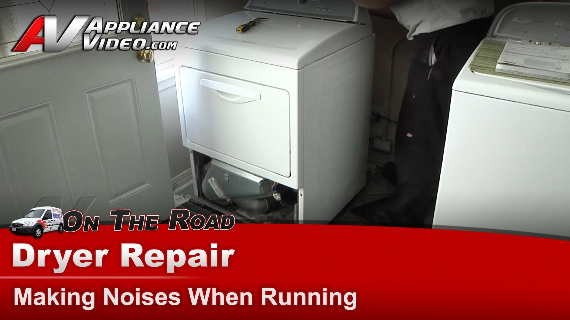 Whirlpool Wed5500xw0 Dryer Repair Making Noises When