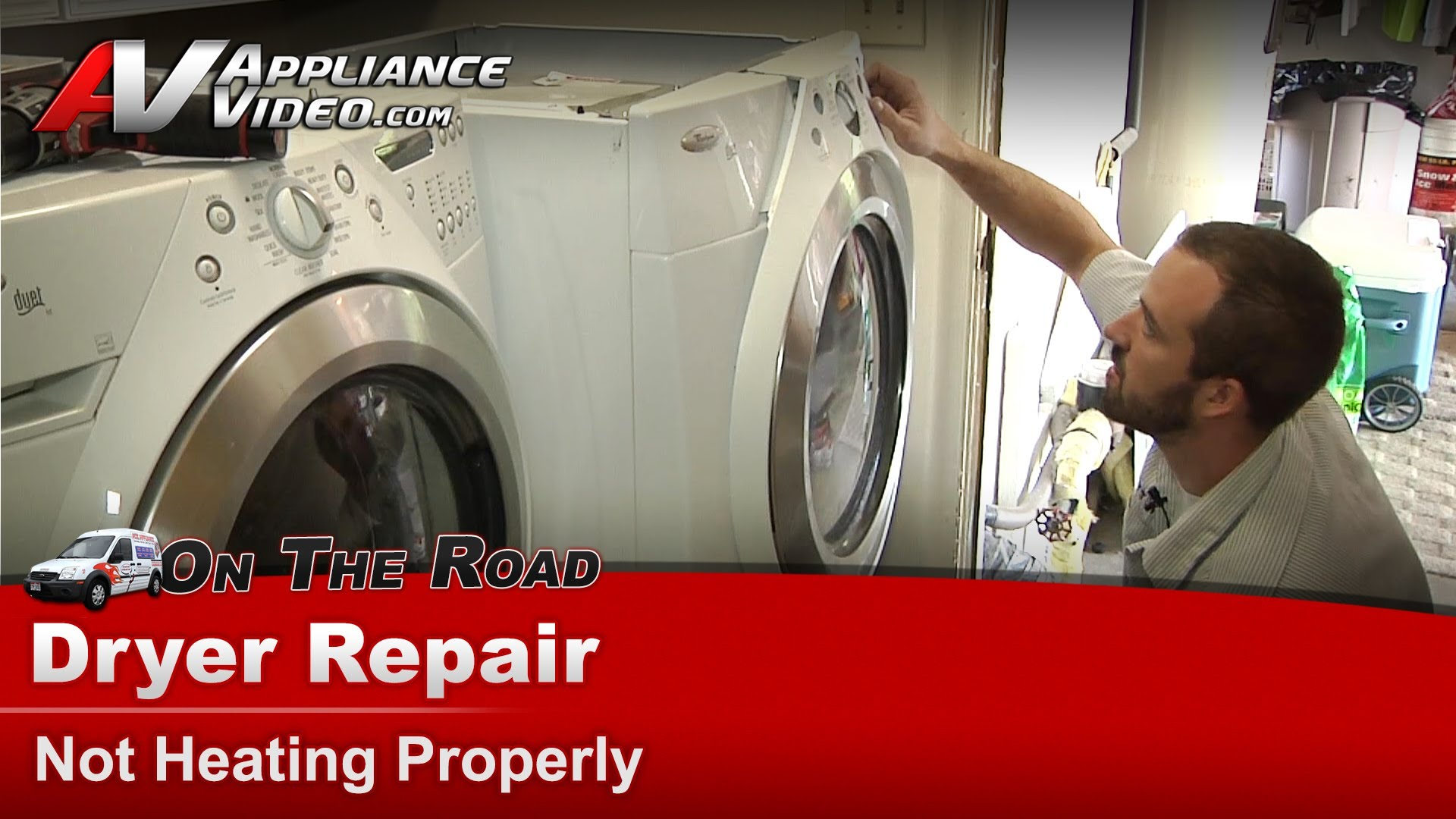 Whirlpool WED9400SW0 Dryer Diagnostic and Repair – Not heating properly – Heating  Element | Appliance Video