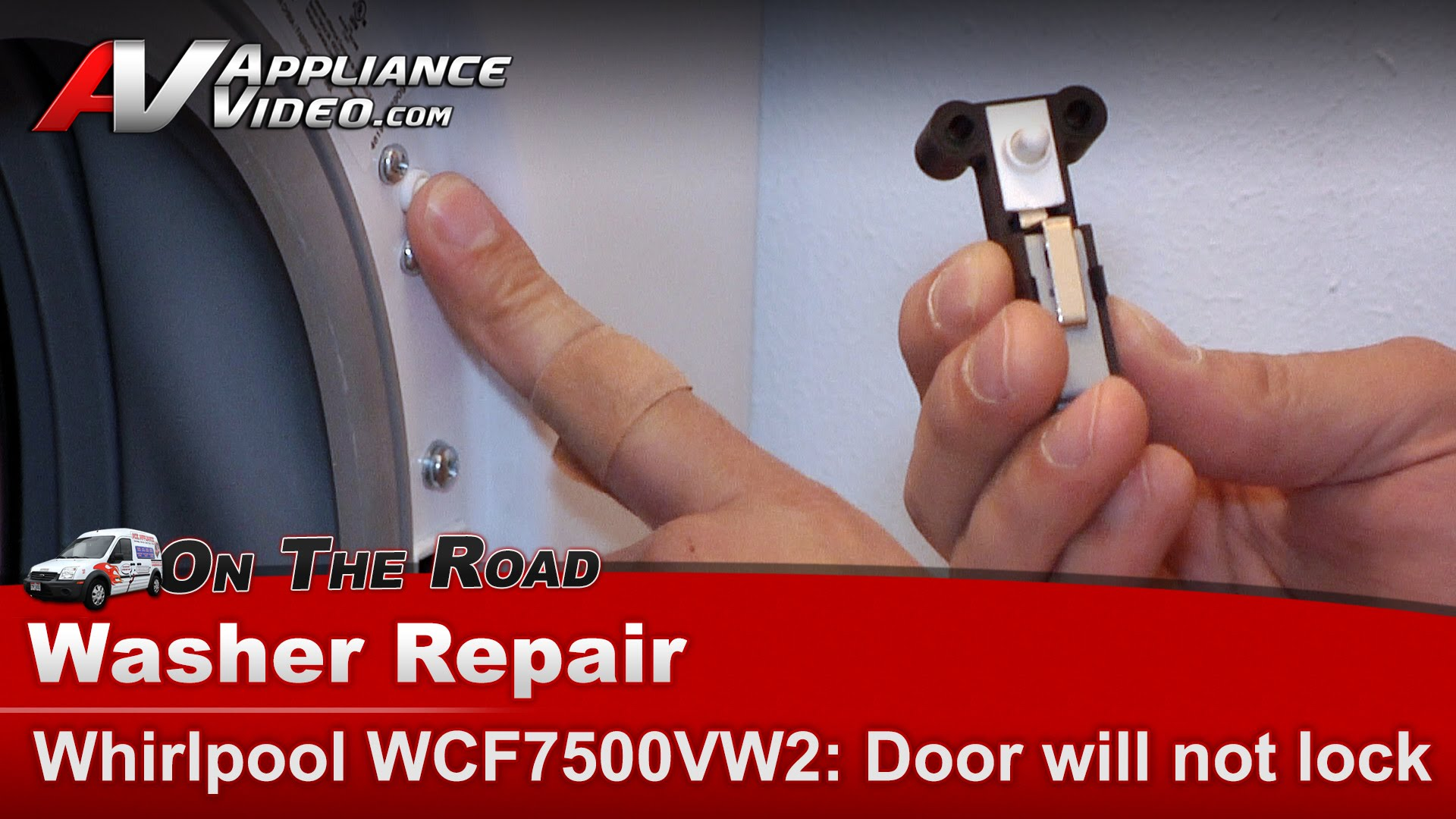 Whirlpool Wfc7500vw2 Washer Diagnostic Repair Door Will Not Lock Duet Diagram Cycle Appliance Video