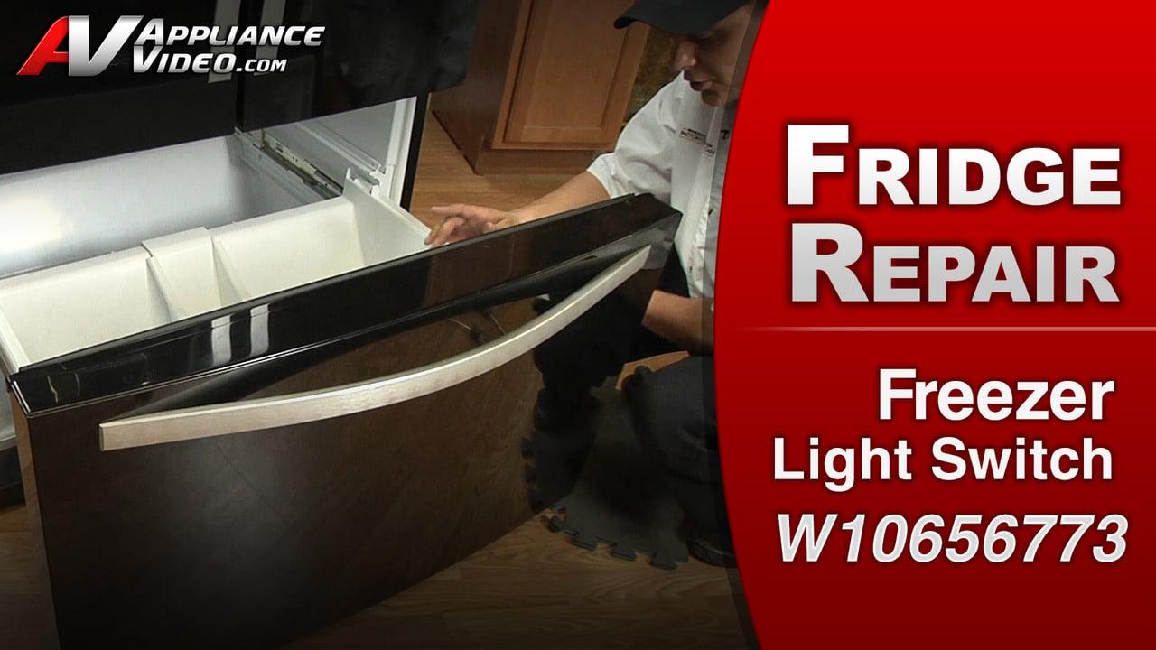 Whirlpool Wrf989sda Refrigerator Freezer Light Will Not