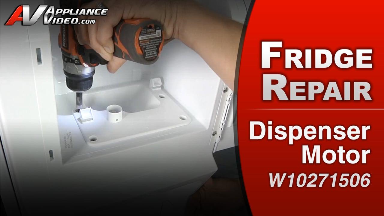 Whirlpool WRF989SDA Refrigerator U2013 Will Not Dispense Ice U2013 Dispenser Motor