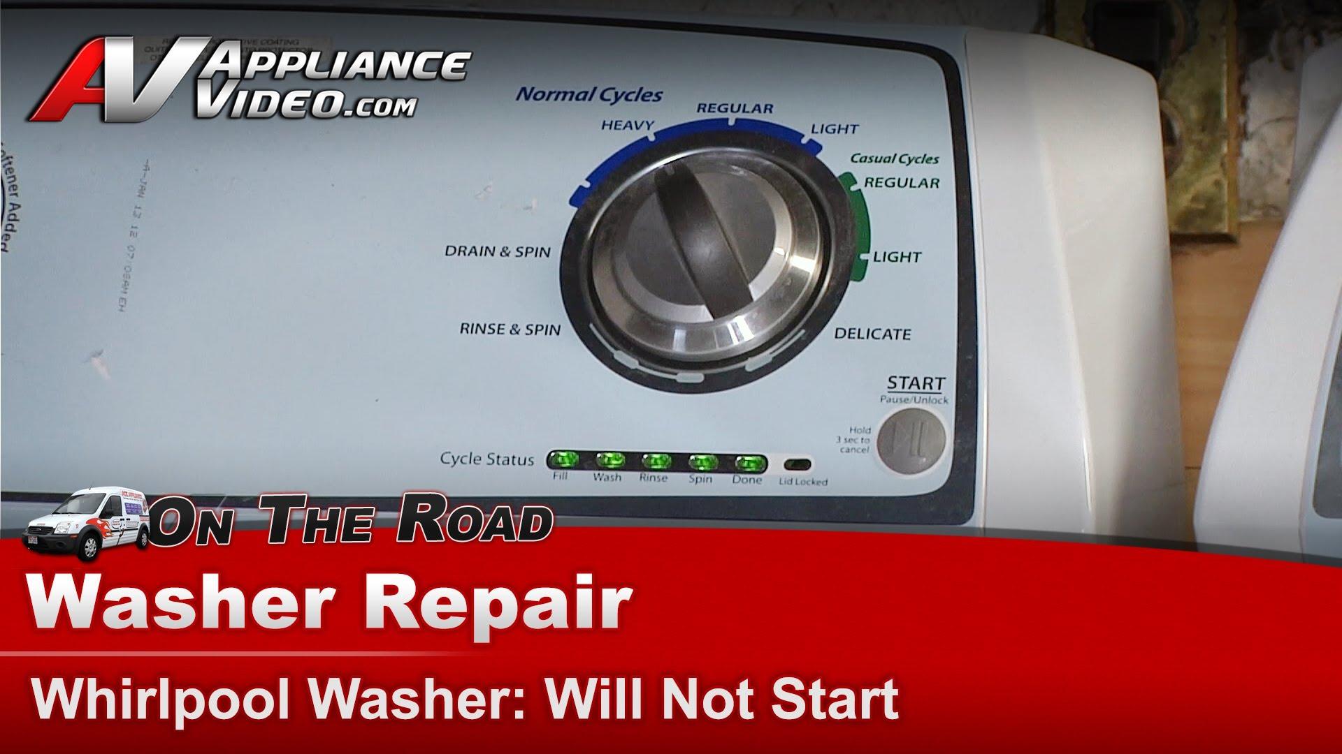 Whirlpool Wtw4800xq2 Washer Repair Does Not Start
