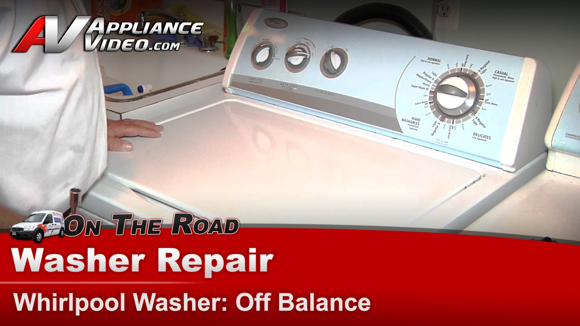 Whirlpool Wtw5600sq0 Washer Repair  U2013 Off Balance  U2013 Tub