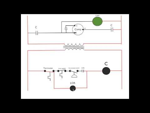 Lockout relay circuit diagram how a lockout relay works appliance video asfbconference2016 Gallery