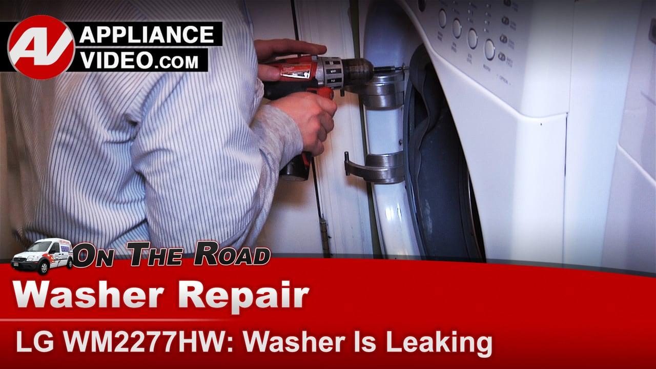 Lg Washer Door Hinge Leaking Door Not Properly Closing