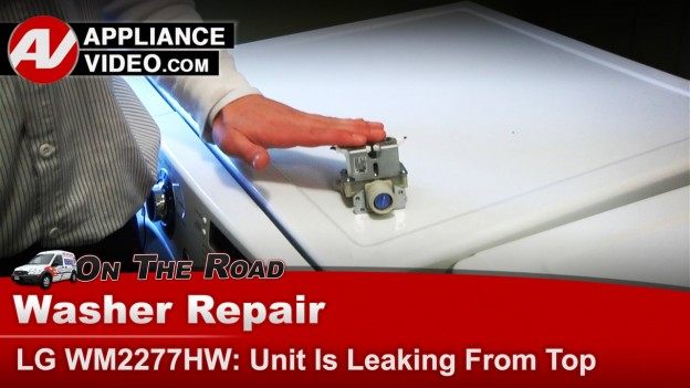 Lg Washer Water Inlet Valve Leaking Water Appliance Video