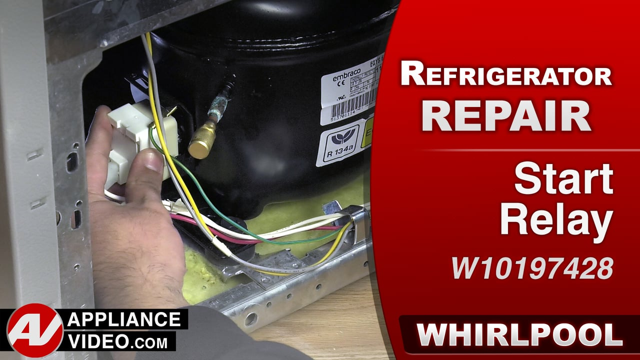 Whirlpool 33 Side By Refrigerator Wrs322fdam Appliance Video Parts Diagram On Compressor Will Not Run Start Relay
