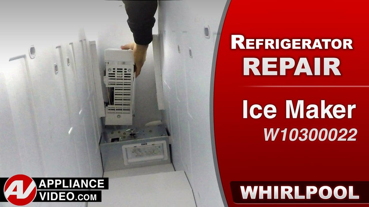 Whirlpool WRS322FDAM Refrigerator – Will not produce ice – Ice Maker