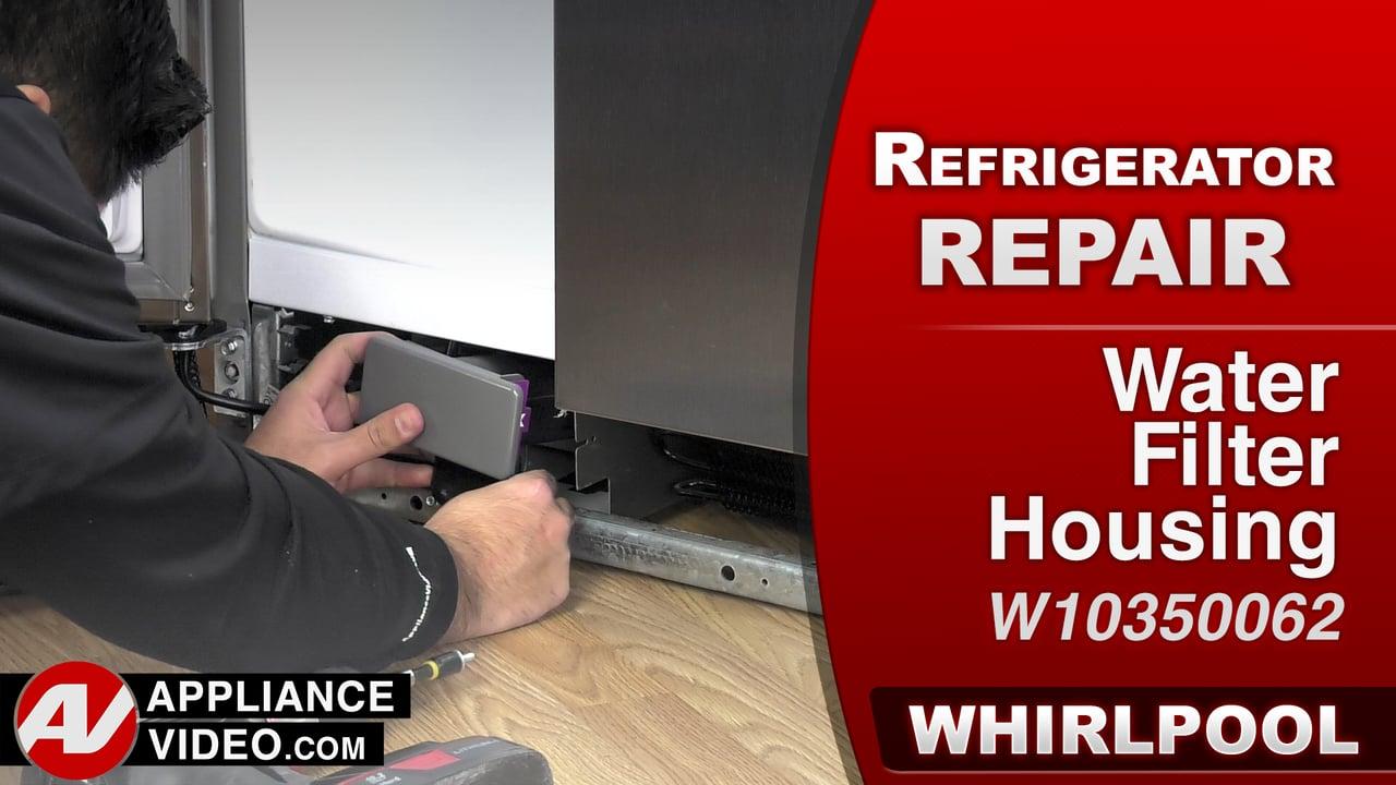 Whirlpool Wrs322fdam Refrigerator Leaking Water Water