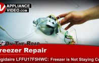 Replacing Defrost Freezer Thermostat on a Frigidaire Whirlpool) Refrigerator