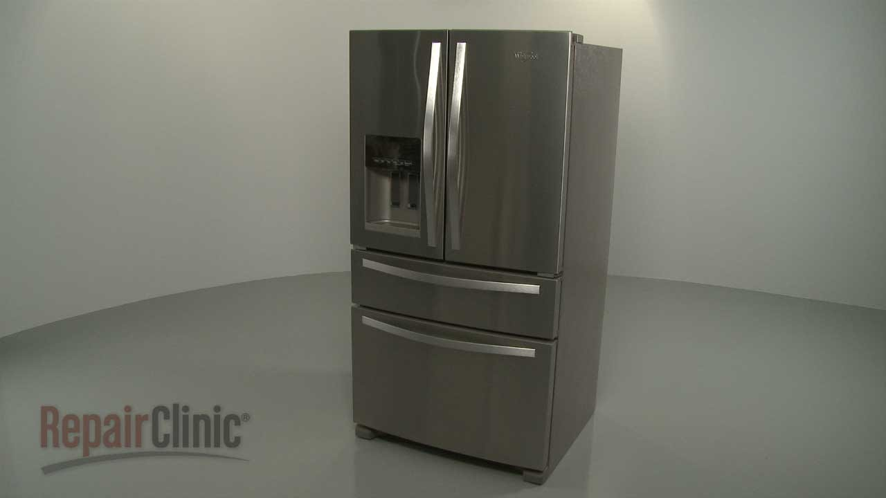How To Disassemble A Whirlpool French Door Refrigerator