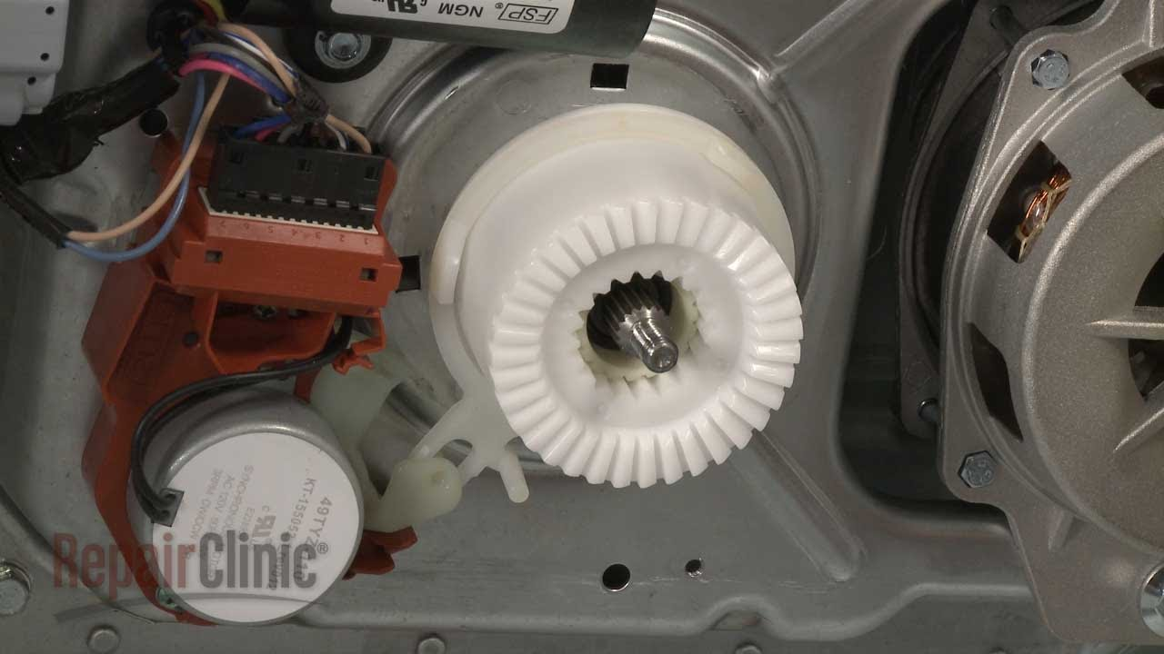 Replacing The Splutch Assembly On A Whirlpool Washer