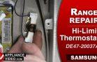 Samsung NE595N0PBSR Induction Stove – No bake or broil – Hi-Limit Thermostat