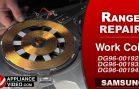 Samsung NE595N0PBSR Induction Stove – No power – Work Coil