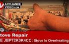 GE JBP72K0K4CC Stove Repair – Overheating – Electronic Control