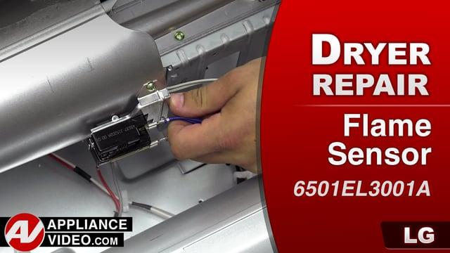 Lg Dlgx9001w Gas Dryer Not Heating Flame Sensor