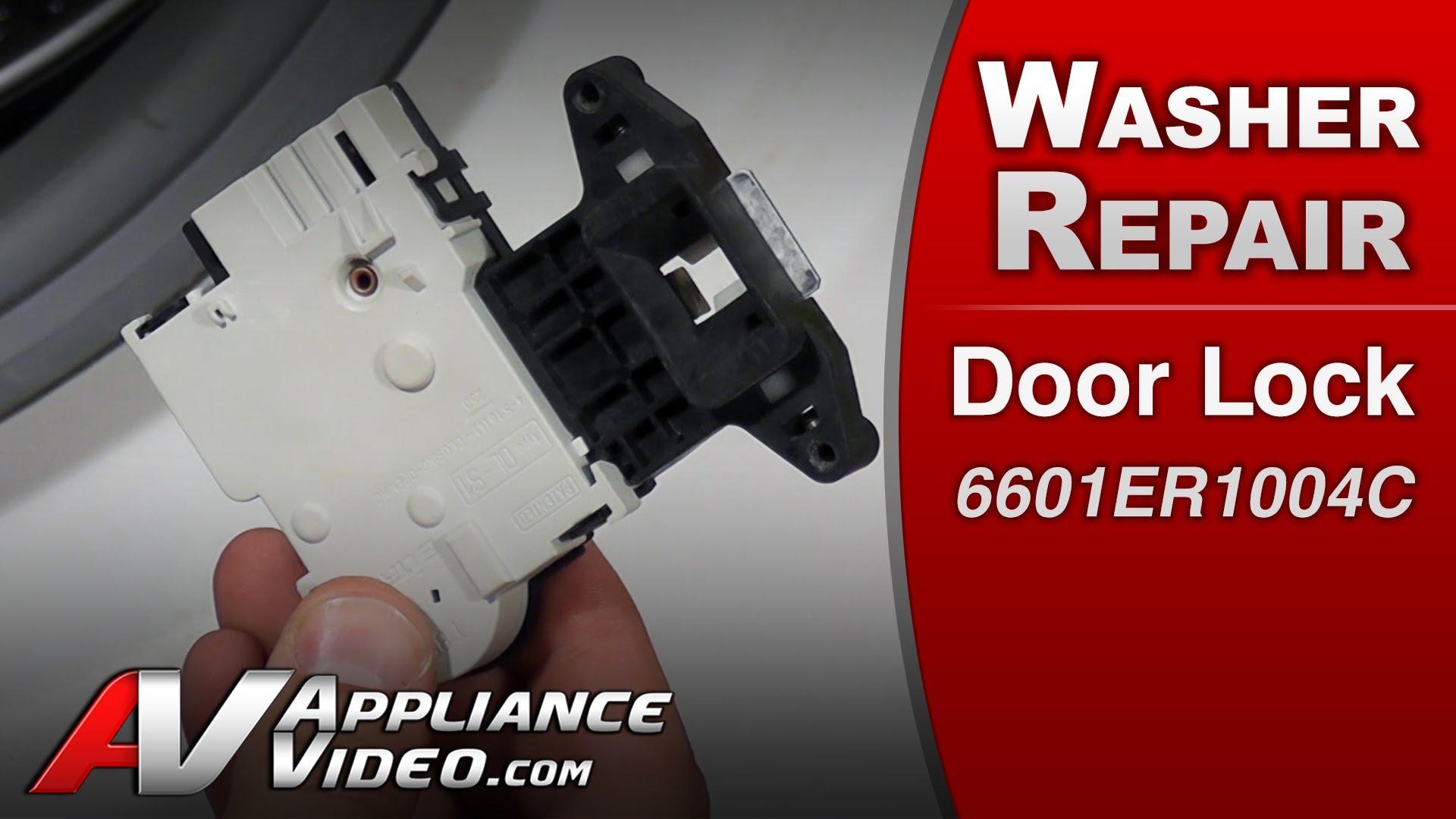 Lg Wm0532hw Washer Door Not Closing Appliance Video