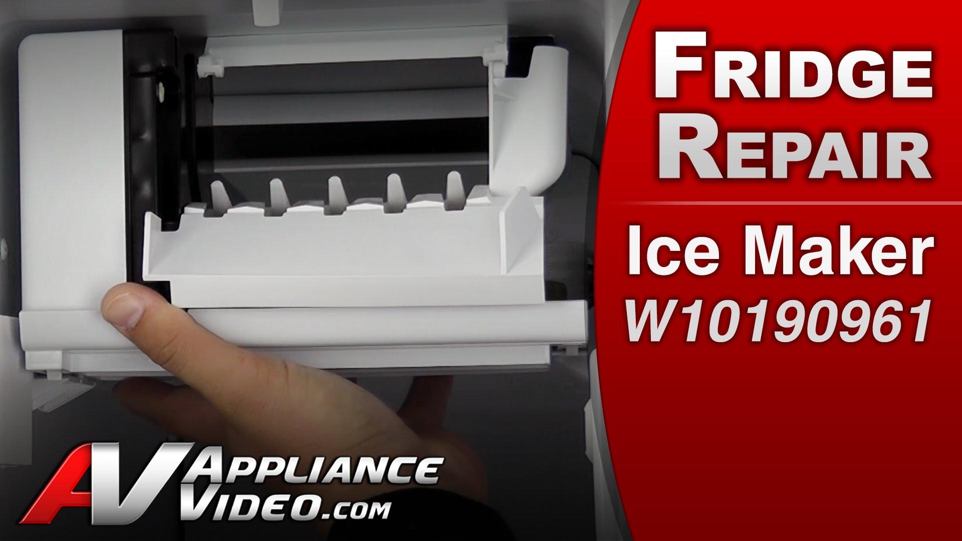Whirlpool Ed2khaxvt01 Refrigerator Will Not Make Or