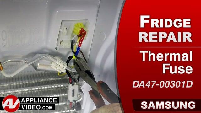 Samsung RF22K9581SR Refrigerator – No defrost – Thermal Fuse