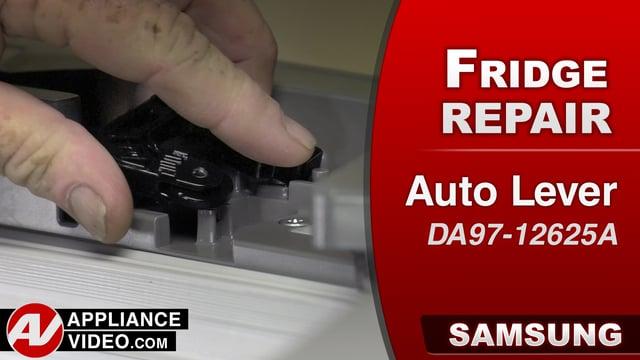 Samsung RF22K9581SR Refrigerator – Door will slam shut – Auto Lever