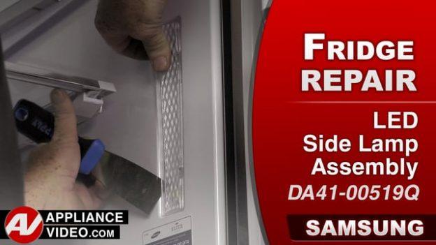 Samsung Rf22k9581sr Refrigerator No Light Led Side