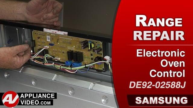 Samsung Nx58j5600sg Stove E 0a Error Code Electronic