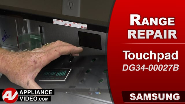 Samsung NX58J5600SG Stove – S3 Error Code – Touchpad
