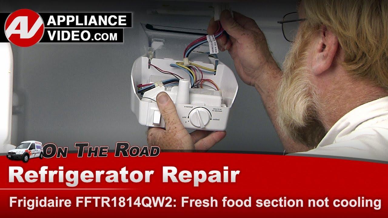 Frigidaire Fftr1814qw2 Refrigerator Fresh Food Section