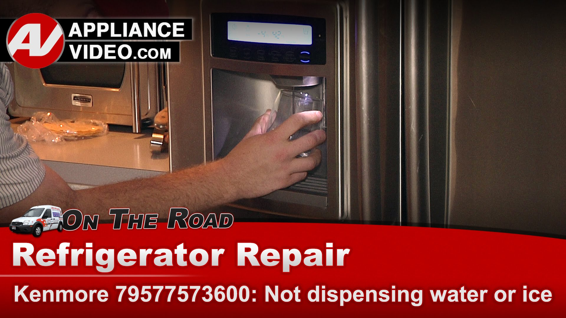 Kenmore 79577573600 Refrigerator Not Dispensing Water Or