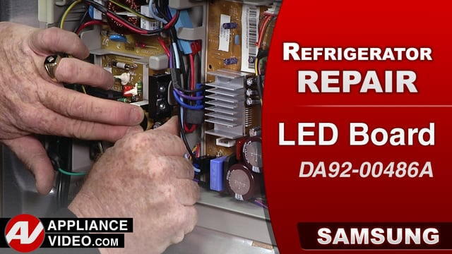 Samsung RF28HMEDBSR Refrigerator – No lighting inside the refrigerator – LED Board
