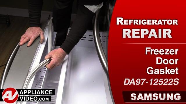 Samsung RF28HMEDBSR Refrigerator – Door to open easily – Freezer Door Gasket
