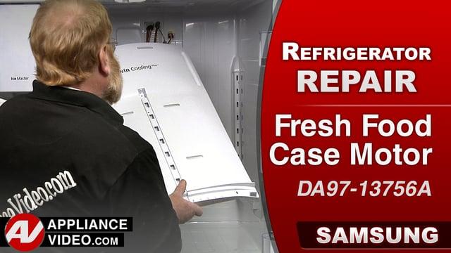 Samsung RF28HMEDBSR Refrigerator – Higher than normal temperatures – Fresh Food Case Motor