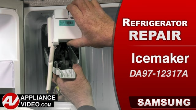 Samsung RF28HMEDBSR Refrigerator – No ice production – Icemaker