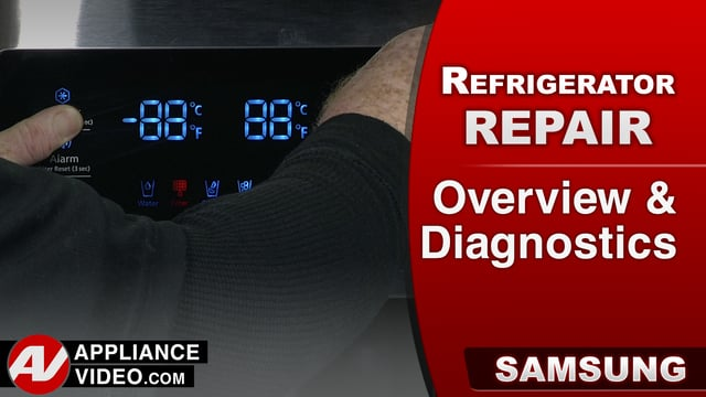 Samsung RF28HMEDBSR Refrigerator – Overview & Diagnostics