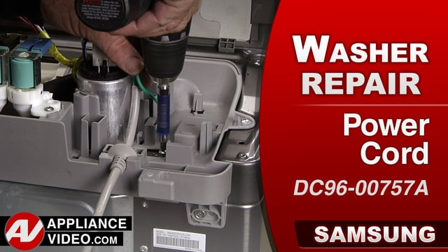 Samsung WA456DRHDS Washer – No power – Power Cord